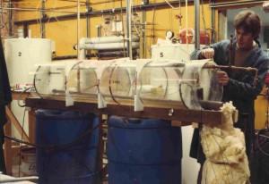 Solar Thermal experiment on tank stratification. Ian Soutar, Ottawa Ontario.
