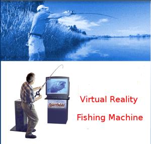 Virtual Reality Sport Fishing Simulator 1991.